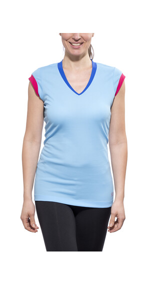 GORE RUNNING WEAR SUNLIGHT 4.0 Shirt Lady ice blue/jazzy pink